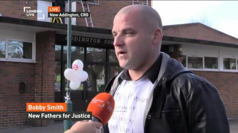 New Fathers 4 Justice London Live