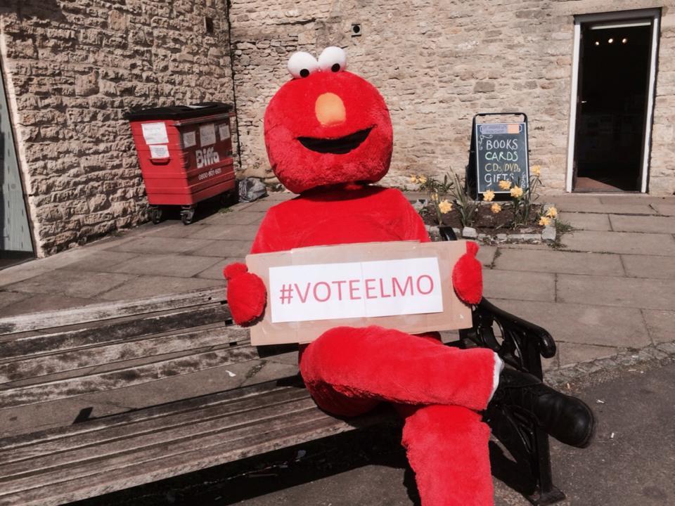 Image result for 14. Stop emotional child abuse, Vote Elmo