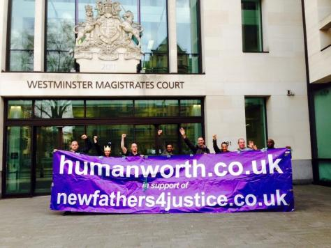Westminster Mags Humanworth Protest