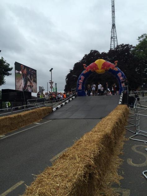 Red Bull start