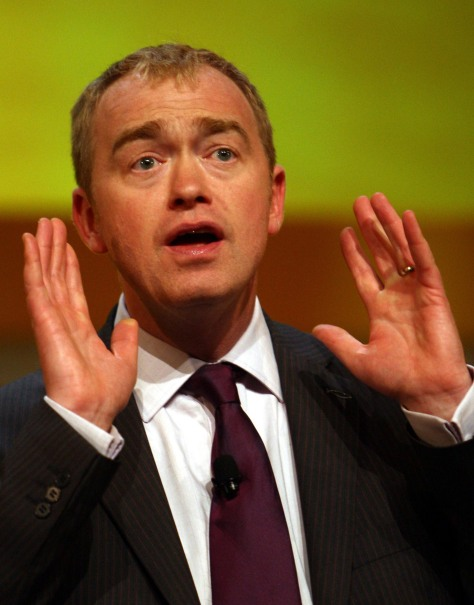 Tim Farron Labour claims