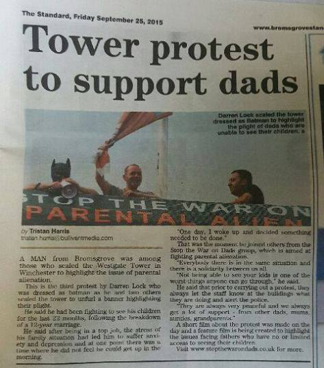 Tower Protest