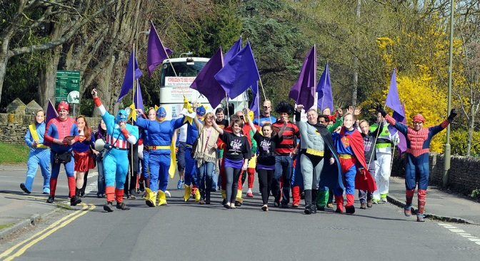 New Fathers 4 Justice – Superhero Dads campaigning for the rights of fathers to see their children